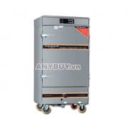 Tủ nấu cơm điện tử 12 khay kết hợp gas
