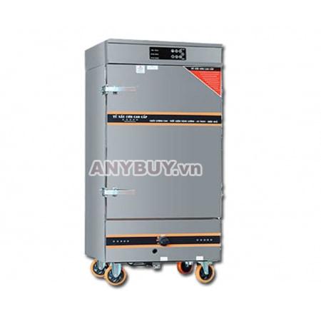 Tủ nấu cơm điện tử 8 khay kết hợp gas