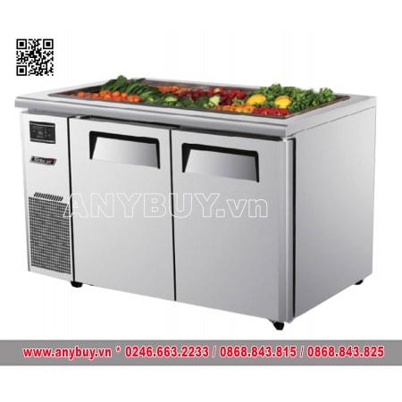 Bàn mát Salad inox TURBO AIR 2 cánh KSR12-2