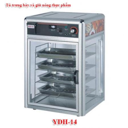 Tủ trưng bày và giữ nóng thực phẩm YDH-14