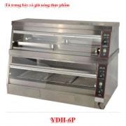 Tủ trưng bày và giữ nóng thực phẩm YDH-6P