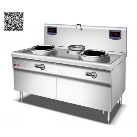 Bếp từ công nghiệp YS-40XC-2 công suất 8KWx2