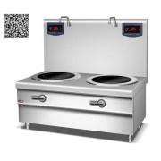 Bếp từ công nghiệp YS-DT-2 công suất  12KWx2