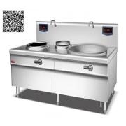 Bếp từ công nghiệp YS-Z400Y800 công suất 12KW+20KW