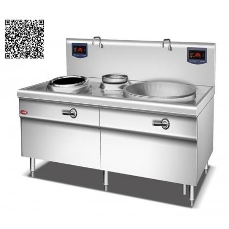 Bếp từ công nghiệp YS-Z400Y800 công suất 8KW+20KW