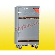 Tủ nấu cơm điện + gas 10 khay