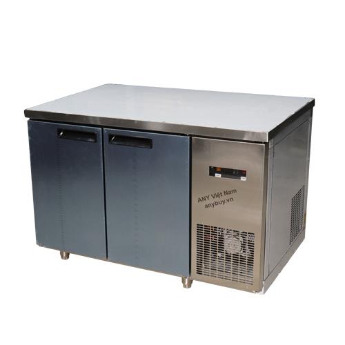 Tủ bàn đông inox làm lạnh trực tiếp BD120x76-2I-T