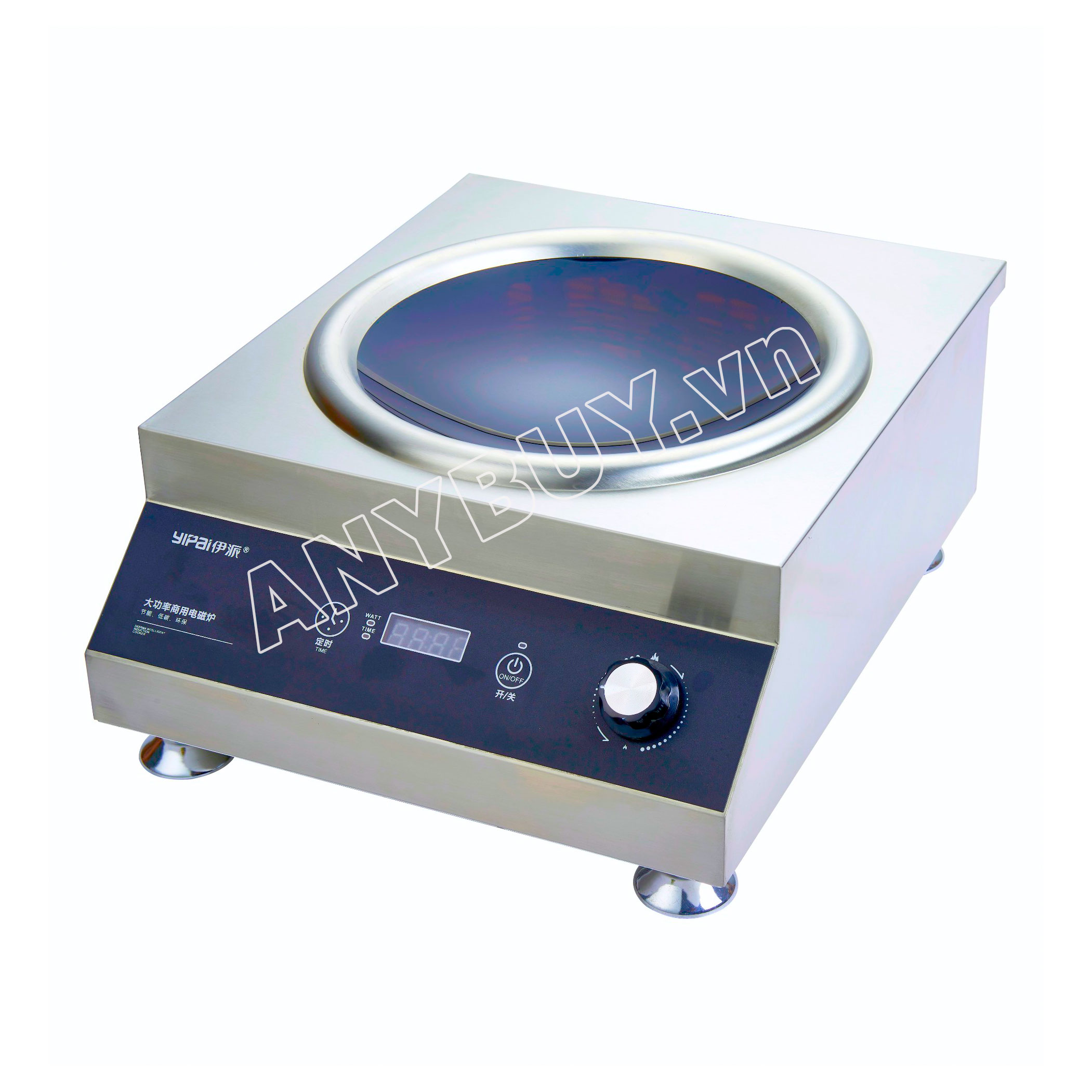 Bếp từ công nghiệp YIPAI BT-5P8S mặt lõm