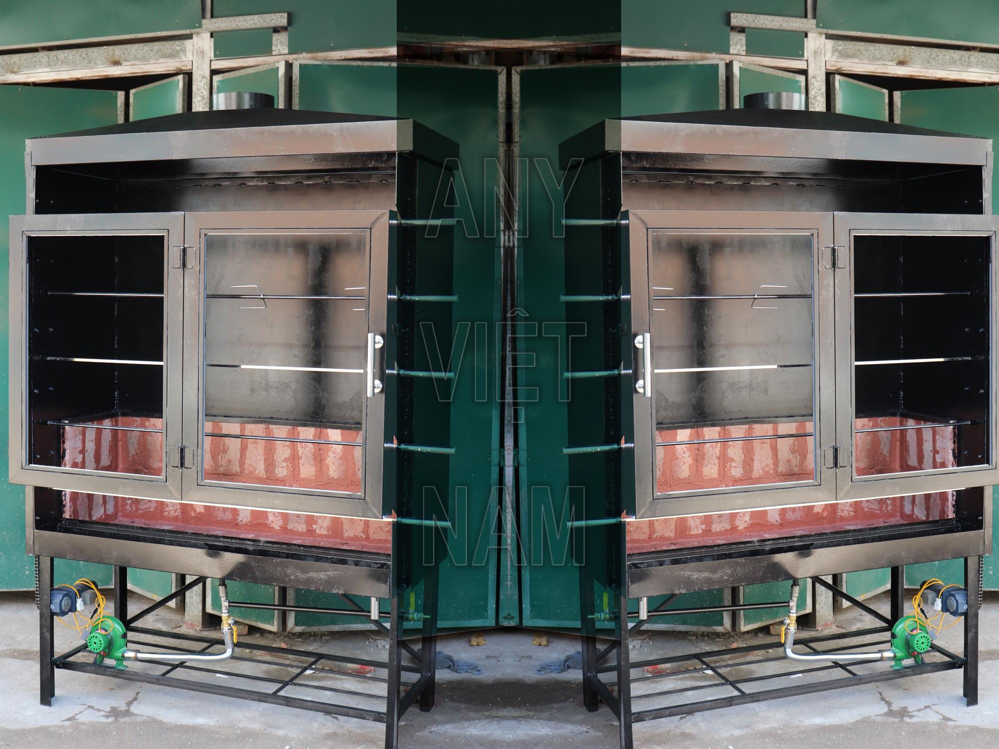 Lò quay gà nướng nguyên con phong cách Hàn Quốc LQG-KR