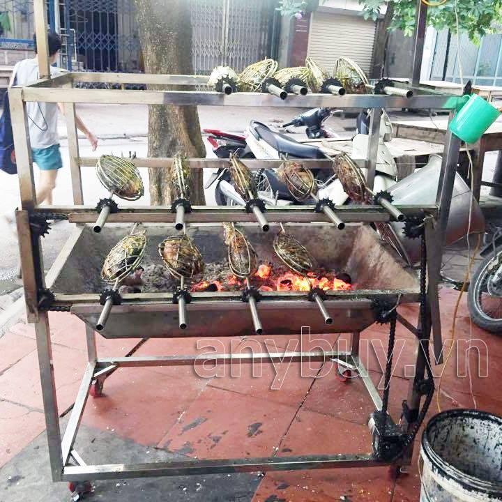 Máy nướng cá inox