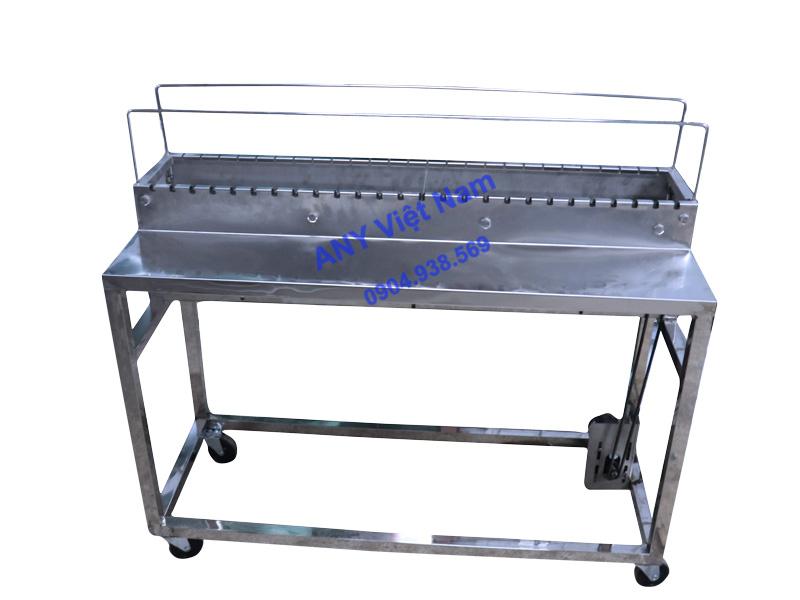 Máy nướng chả xiên inox bằng than hoa LCH-26N1M