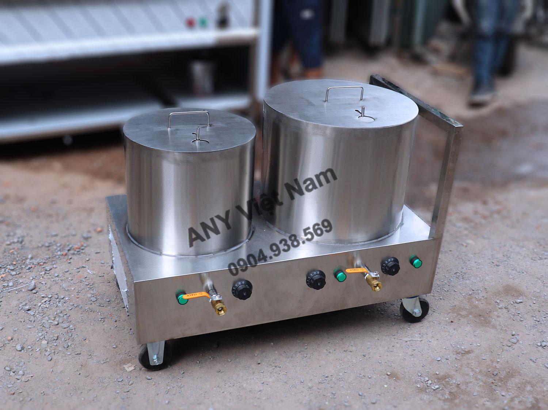 Bộ nồi phở mini NP-2N2040L dung tích 20+40 lít, điện áp 220V, công suất 6KW