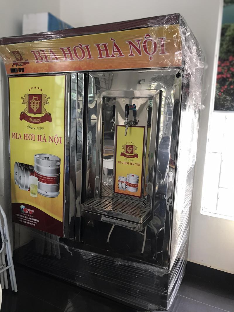 Tủ bia đứng 6B50L loại ngâm hoặc bơm nước tuần hoàn