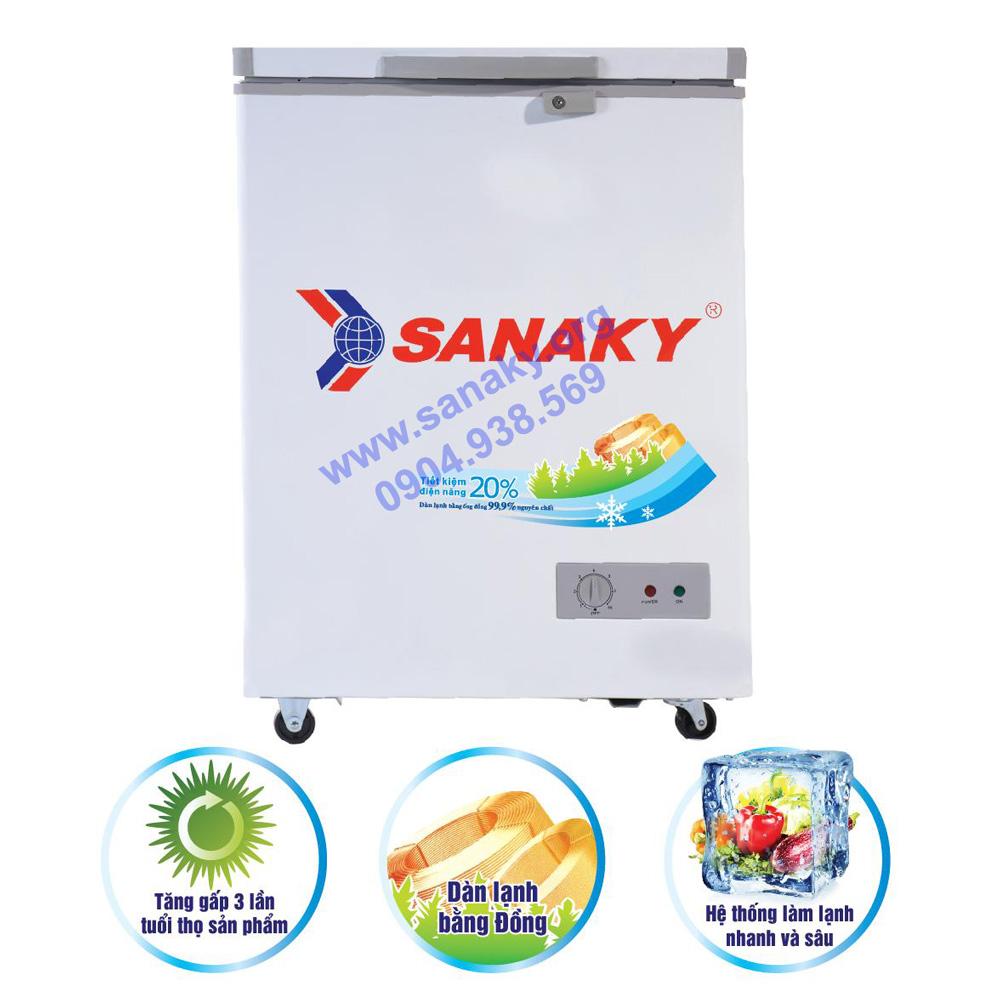 Tủ cấp đông Sanaky VH-1599HY