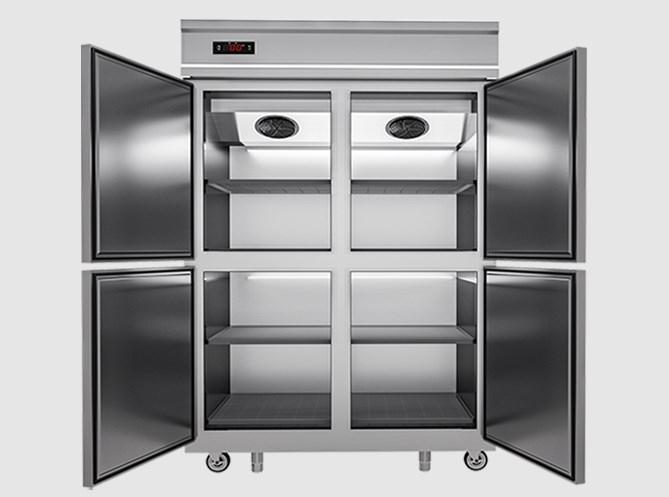 Tủ đông mát inox 4 cánh DM1100-4I