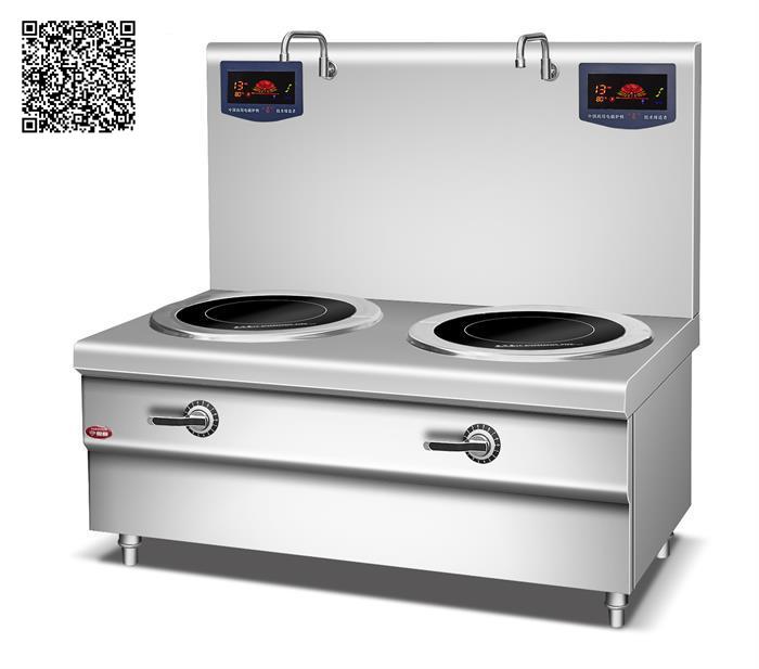 Bếp từ công nghiệp YS-DT-2 công suất 8KWx2