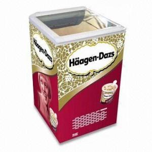 Một mẫu tủ của thương hiệu Haagendazs