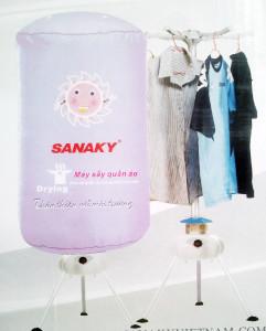 Máy sấy quần áo Sanaky dạng cây