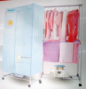 Máy sấy quần áo dạng tủ Sanaky