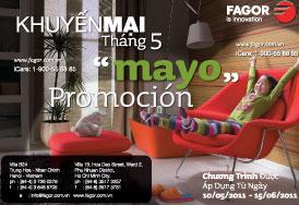 Fagor khuyến mại tháng 5