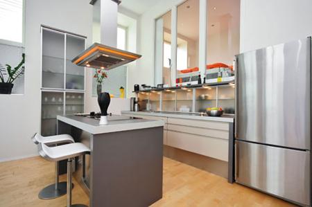 Máy hút mùi mang đế sự trong lành, thoáng đãng cho không gian nhà bếp