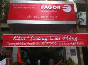 Khai trương showroom Fagor Trang Nhung