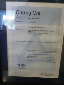 Sanaky ISO 9001-2008 Tiếng Việt