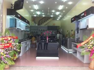 Tham quan showroom Fagor Trang Nhung