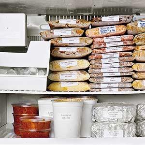 Thực phẩm lưu trữ được bao lâu trong tủ đông