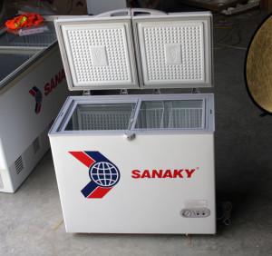 Tủ đông Sanaky cánh mở