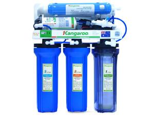 Máy lọc nước RO Kangaroo với lõi lọc RO lọc đến kích thước 0.0001micromet