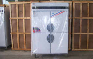 Mặt trước tủ đông inox D1.0L4