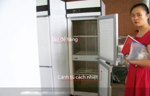 Các lớp xốp cách nhiệt trong tủ D1.0L4