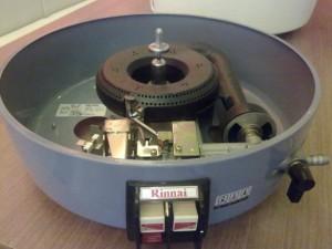 Nút điều khiển bếp của nồi cơm ga Rinnai RTL-R10