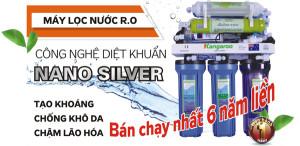 Máy lọc nước RO Kangaroo sản phẩm bán chạy nhất 6 năm liền