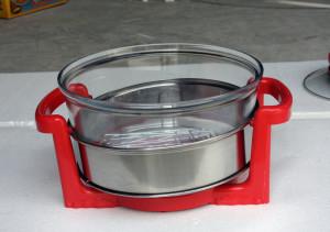 Lò nướng thủy tinh Sanaky 15 lít màu đỏ