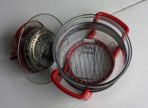 Lò nướng thủy tinh 15 lít