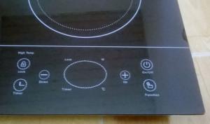 Các phím chức năng bếp đôi AT-201HGW