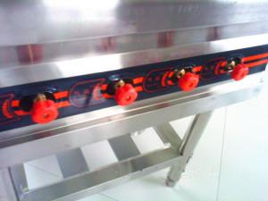 Núm vặn điều chỉnh gas bếp âu 4 họng
