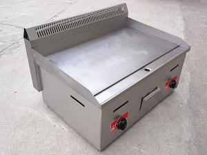 Bếp rán mặt phẳng dùng gas