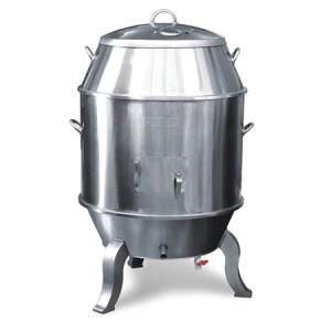 Lò quay vịt dùng than