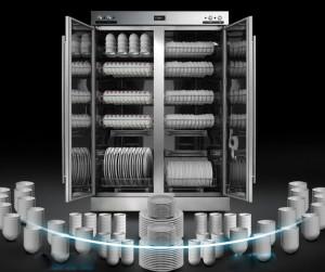 Năng lực sấy của tủ sấy bát RTP700F-1A