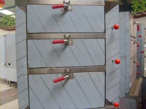 Tủ hấp hải sản 3 tầng
