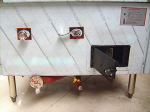 Buồng đốt tủ hấp hải sản 3 tầng