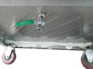 Van xả đáy giúp vệ sinh tiện dụng