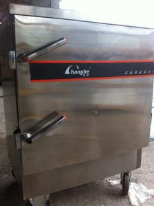 Mặt trước tủ nấu cơm điện 8 khay
