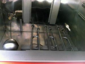 Buồng đốt và cấp nước tủ cơm điện 8 khay