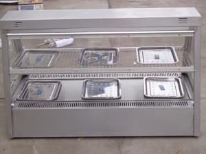 Tủ trưng bày thức ăn mặt kính
