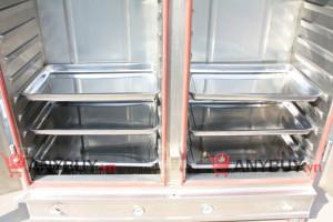 Cách sắp xếp khay trong tủ nấu cơm 24 khay