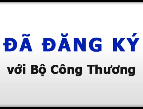 ANYBUY.VN website TMĐT đã đăng ký với Bộ Công Thương